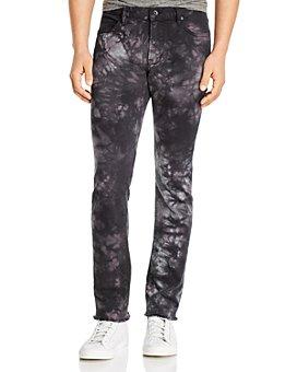 John Varvatos Star USA - Wight Skinny Fit Jeans in Black