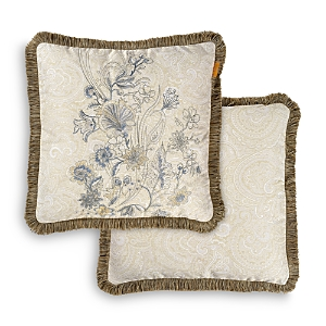 Etro Petite Palais Embroidered Passementerie Cushion, 18 x 18
