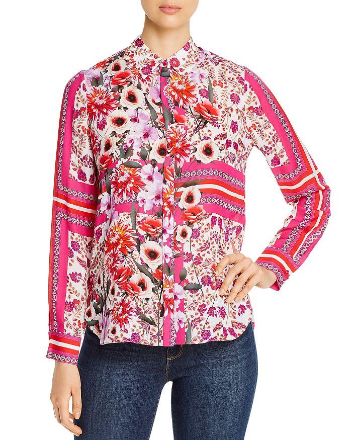 Elie Tahari - Ingunn Printed Silk Blouse