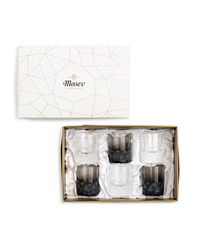 Moser - Pebbles Shot Glasses, Set of 6 - 100% Exclusive