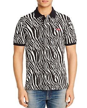 OVADIA - Regular Fit Zebra Polo