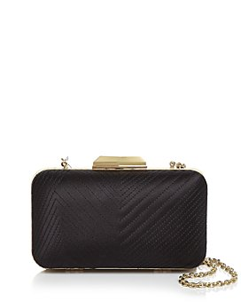 Sondra Roberts - Mini Quilted Satin Box Clutch