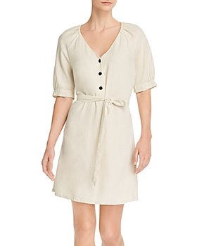 Vero Moda - V-Neck Blouson-Sleeve Dress