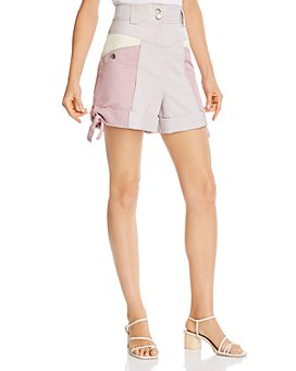 Rebecca Taylor - Colorblocked Shorts