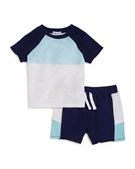 Splendid - Boys' Color-Blocked Tee & Shorts Set - Baby