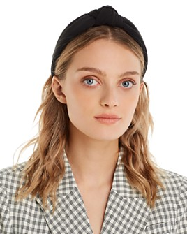 Lele Sadoughi - Neoprene Knotted Headband