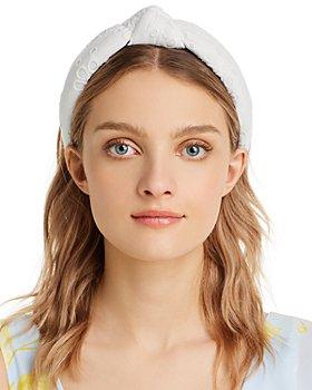 Lele Sadoughi - Eyelet Knotted Headband
