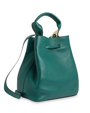 Gerard Darel Saxo Leather Bucket Bag-Women