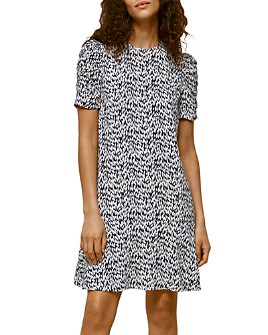 Whistles - Petal-Print Dress