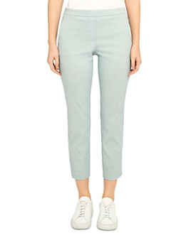 Theory - Treeca 'Good Linen' Pull-On Pants