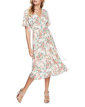 1.STATE - Ikat Bouquet Wrap Dress