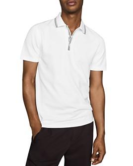REISS - Innes Tipped-Collar Polo Shirt