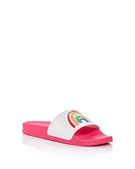 Stella McCartney - Girls' Rainbow Slide Sandals - Toddler, Little Kid, Big Kid
