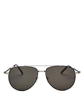 Salvatore Ferragamo - Men's Timeless Polarized Aviator Sunglasses, 58mm