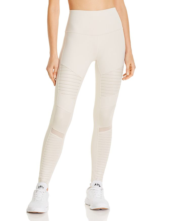 Alo Yoga - High Rise Moto Leggings