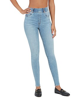 SPANX® - Ankle Skinny Jeans, Light Vintage Wash