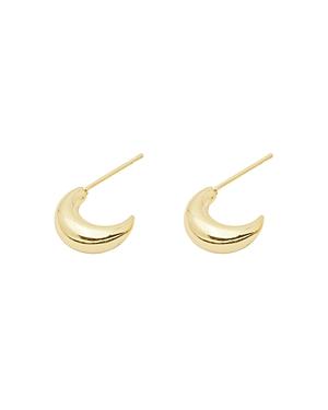 Gorjana Farrah 18K Gold-Plated Huggie Hoop Earrings