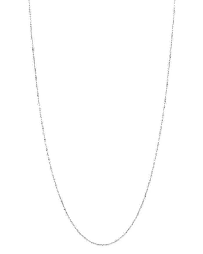"""Bloomingdale's Bloomingdale's Wheat Link Chain Necklace in 14K Yellow Gold or 14K White Gold, 18"""" - 100% Exclusive    Bloomingdale's"""