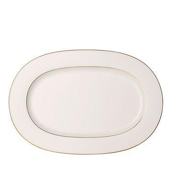 Villeroy & Boch - Anmut Gold Oval Platter