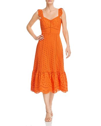 Parker - Genevieve Eyelet-Embroidered Dress