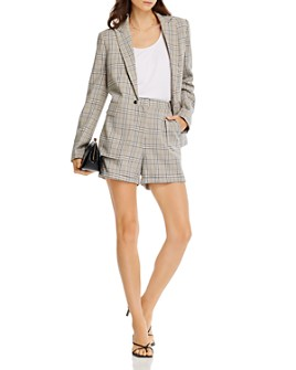AQUA - Glen Plaid Blazer & Shorts - 100% Exclusive