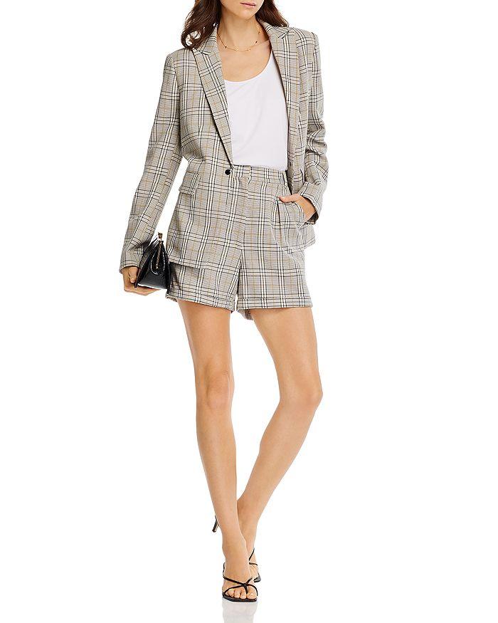 AQUA - Glen Plaid Blazer & Shorts - 100% Exclusive