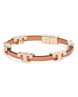 Tory Burch - Sherif-T Leather Stackable Bracelet