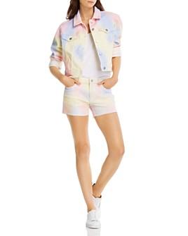 AQUA - Tie-Dyed Jacket & Shorts - 100% Exclusive