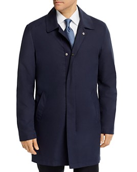 Corneliani - Fly Front Rain Coat