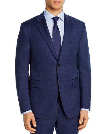Theory - Bowery Tonal Windowpane Extra Slim Fit Suit Jacket