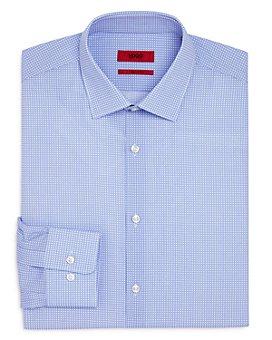 HUGO - Mabel Circle Print Regular Fit Dress Shirt