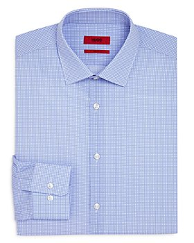 HUGO - Mabel Circle Print Regular Fit Dress Shirt