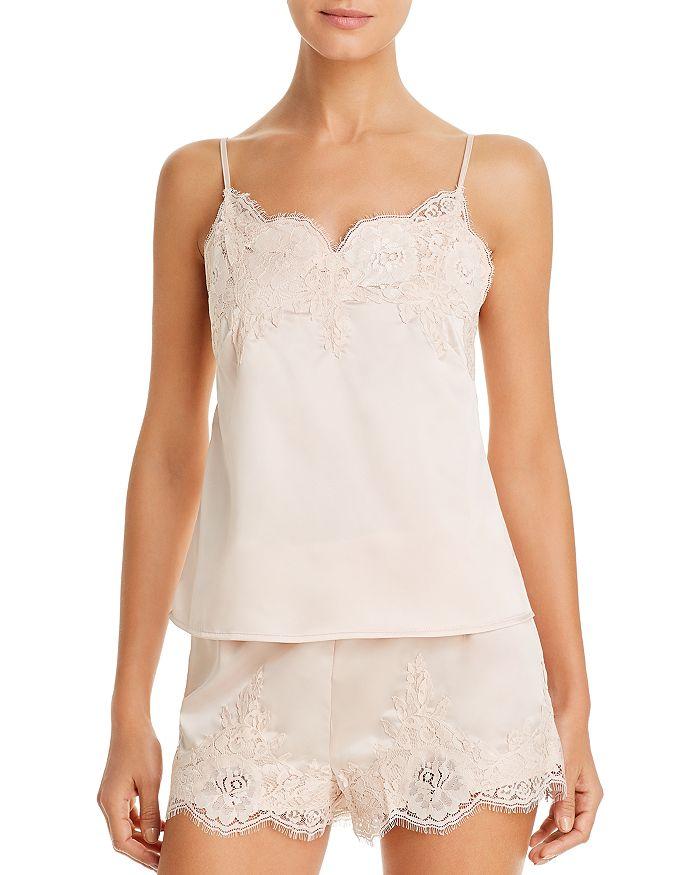 Homebodii Olivia Camisole & Shorts Pajama Set In Blush