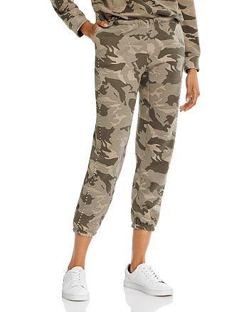 Generation Love - Helene Cropped Camo Print Sweatpants