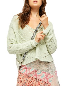 Free People - Seashell Cropped Sweater