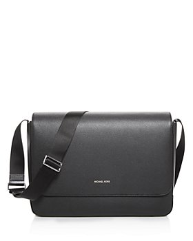 Michael Kors - Mason Explorer Pebbled Leather Messenger Bag