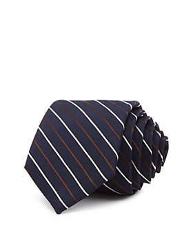 Theory - Roadster Alport Striped Silk Skinny Tie