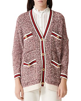 Maje - Mapada Knit Button-Front Cardigan