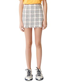 Maje - Jianey Tweed Mini Skirt