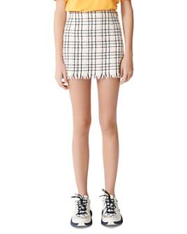 Maje - Jianey Tweed Mini Skirt