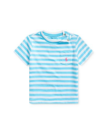 Ralph Lauren - Boys' Striped Logo Pocket Tee - Baby