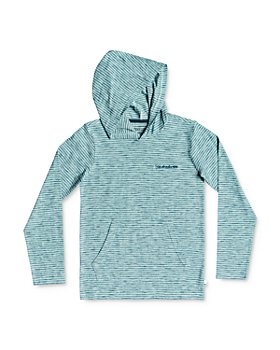 Quiksilver - Boys' Kentin Cotton Striped Hoodie - Big Kid