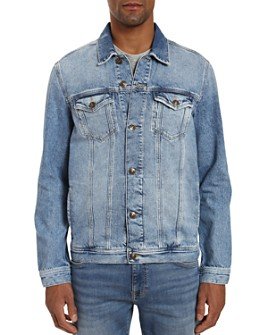 Mavi - Drake Cotton Regular Fit Denim Jacket in Light Authentic Vintage
