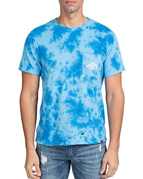 PRPS - Ballwin Cotton Tie-Dyed Destroyed Pocket Tee
