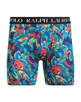 Polo Ralph Lauren - Stretch Parrot-Print Boxer Briefs