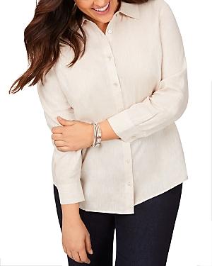 Jordan Non-Iron Linen Shaped Shirt