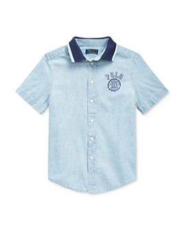 Ralph Lauren - Boys' Cotton Chambray Shirt - Big Kid