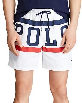 Polo Ralph Lauren - Traveler Nylon Logo-Print Swim Trunks