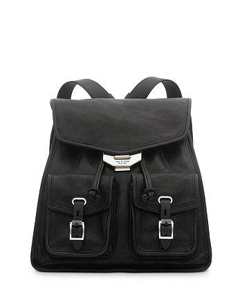 rag & bone - Small Field Leather Backpack