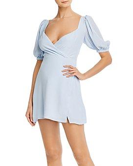 LANI THE LABEL - Puff-Sleeve Mini Dress - 100% Exclusive